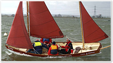 The adapted Drascombe Lugger